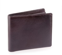 Billfold Boys Casual, Formal, Travel Brown Genuine Leather Wallet(16 Card Slots)