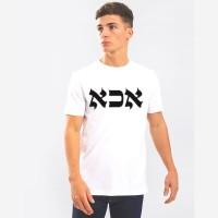 Nerroo Printed Men Round Neck White T-Shirt