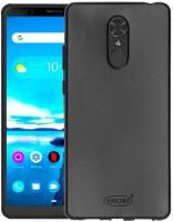 VAKIBO Back Cover for Lenovo TAB V7, Lenovo TAB V7 ZA4L0020IN, Lenovo TAB V7 ZA4L0052IN(Black Matte Soft Durable Anti Scratch -Perfect Fit- Air Cushion Anti Shock-Flexible, Grip Case)