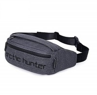 AH Arctic Hunter Waist Bag Water Resistant with Adjustable Strap for Outdoors, Traveling Casual Running Hiking Cycling Camping Pouch for Men/Women (Dark Gray) Waist Bag Water Resistant with Adjustable Strap for Outdoors, Traveling Casual Running Hiking Cycling Camping Pouch for Men/Women (Dark Gray)