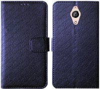 MYSHANZ Flip Cover for Panasonic Eluga Ray Max, panasonic eluga ray max Flip cover(Blue)