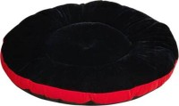 RK PRODUCTS 01 BLACK WITH RED PATTI GADI L Pet Bed(Black)