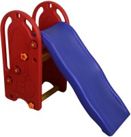 Miss & Chief Red & Blue Color Plastic Garden Slide for Kids/ Toddlers/ Preschoolers(Multicolor)
