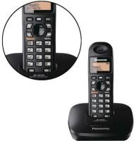 Panasonic KX-TG3611SXB Cordless Landline Phone(Black)