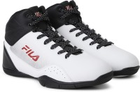 Fila OFF CUT Basketball Shoes For Men(Black, White)