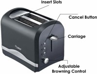 Prestige Pop-Up Toaster PPTPKB 800 W Pop Up Toaster(Black)
