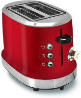 V-Guard VT240 950 W Pop Up Toaster(Red)
