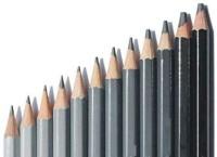 KRAFTMASTERS Artist Quality Drawing Soft Safe Lead Non-Toxic Standard Art Pencil Set - 4H, 2H, HB, B, 2B, 3B, 4B, 5B, 6B, 8B, 10B, 12B. Pencil(Multicolor)