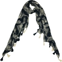 Ziva Fashion Printed Cotton Rayon Blend Women Scarf