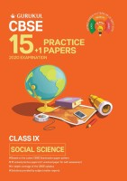 15+1 Practice Papers - Social Science: CBSE Class 9 for 2020 Examination(English, Paperback, Gurukul Books)