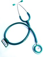 Dr. Head Green Steel Stethoscope Cardiology For All With Spare Part Stethoscope Cardiology Stethoscope(Green)