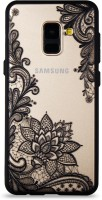 Samsung Phone Back Cover Case Embossed Lace Stylish Designer TPU&PC Cover Case for Samsung A8