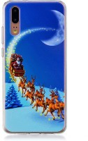 Phone Case Huawei P20 Case, Tpu Soft Shell Christmas Printed Back Case Cover for Huawei P20