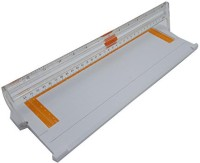R H lifestyle A500MB 12 Inch (A4) Portable Paper Trimmer Portable Paper cutter Plastic Grip Hand-held Paper Cutter(Set Of 1, White)