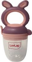 LuvLap Bunny Food & Fruit Nibbler, 6m+ Feeder(Purple & Pink)