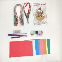 R H lifestyle Paper Quilling Kit + Medium Jewelry Making kit