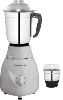 Grand plus Access 2 jar 500 Mixer Grinder(White, 2 Jars)