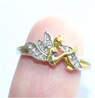 Cute Elf Angel Ring Female Separation Flower Fairy Fashion Jewellery