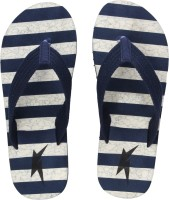 Kraasa Hawaii 8045 Navy Slippers For Men