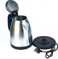 Benison India 220V Household Appliances Electric Kettle/Stainless Steel Electric Kettle Water Heater Electric Kettle(1.8 L, Black, Silver)