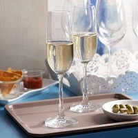 Hans Vahini (Pack of 2) Crystal Wine Glass Red or White Wine, Champagne Flutes, Crystal Glass Set 220 ml Glass Set Glass Set(220 ml, Glass)