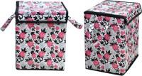 Navrang Matching Center 25 L Pink, Beige Laundry Bag(PVC)