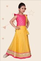 Kidotsav Girls Lehenga Choli Ethnic Wear Embellished Lehenga| Choli and Dupatta Set Pink| Pack of 1