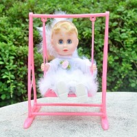 Mubco LOVELY SWING ANGEL DOLL FOR BABY |(White)