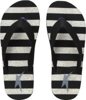 Kraasa Hawaii 8045 Black Slippers For Men