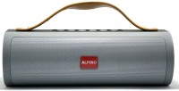 Alpino JP103AP Portable Bluetooth Speaker with 6 Hour Playtime|in Built powerbank|USB/FM Support 10 W Bluetooth  Speaker(Grey, Stereo Channel)