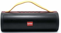 Alpino JP103AP Portable Bluetooth Speaker with 6 Hour Playtime|in Built powerbank|USB/FM Support 10 W Bluetooth  Speaker(Black, Stereo Channel)
