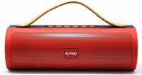 Alpino JP103AP Portable Bluetooth Speaker with 6 Hour Playtime|in Built powerbank|USB/FM Support 10 W Bluetooth  Speaker(Red, Stereo Channel)