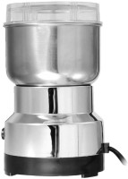 MOHAK SZJ-1306 Stainless Steel Household Electric Coffee Bean Powder Grinder Maker 300 Mixer Grinder (1 Jar, Silver)