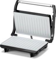 Kent Sandwich Maker Grill(Brushed Silver Panel, Black)