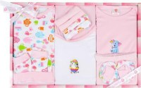 Mini Berry Gift Set-13 Pcs New Born Baby Pink