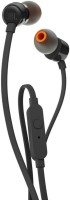 JBL T160 Wired Headset(Black, Wired in the ear)