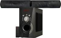 KRISONS Black Knight Bluetooth Sound Bar System Bluetooth Home Theatre(Black, 4.1 Channel)