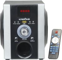 KRISONS Buddy 4 W Bluetooth  Speaker(Black and Silver, 2.0 Channel)