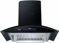Inalsa Trident 90BKAC Auto Clean Wall Mounted Chimney(Black 1300 CMH)