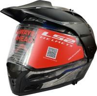 LS2 FF324 METRO EVO BUZZ MATT BLACK Motorbike Helmet(Black)