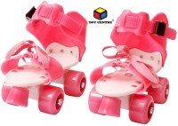Toy Centre Live Sports Pro Lite Skates Shoes For Kids / Childrens -Quad Roller UNISEX (Pink) In-line Skates - Size 4-8 UK Quad Roller Skates - Size 4-8 UK(Pink)