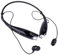 Ashiv HBS-730 Wireless/bluetooth For ALL MOBILES BH_002 Bluetooth Headset with Mic(Black, Over the Ear)