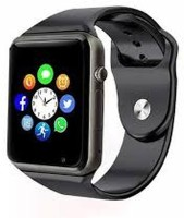 SMART 4G Smart Calling Android Watch for VI.VO Smartwatch(Black Strap, free)