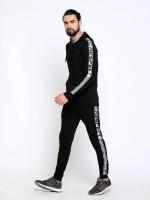 MANIAC Solid Men Track Suit