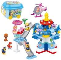 TEMSON Dog Team Rescue Mission Amusement Park Construction Block Set Toy for Kids (5707)(Multicolor)