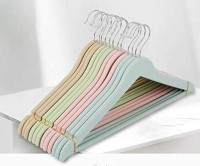 ANH MART Plastic Pack of 30 Cloth Hangers(Multicolor)