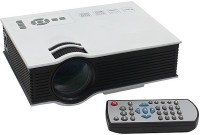 Teratonic UC40 800 lm LED Corded Portable Projector(White)