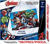 Miss & Chief 100 Puzzles Avengers(100 Pieces)