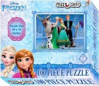 Miss & Chief 100 Puzzles Frozen(100 Pieces)