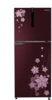 Panasonic 307 L Frost Free Double Door 3 Star Refrigerator(Flower Wine, NR-BG311VPW3)